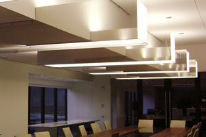 Corporate Interiors Commercial Light Installation
