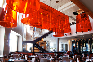Vivace Restaurant Light Installation