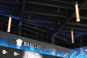 Barclays' Center Commercial Light Installation