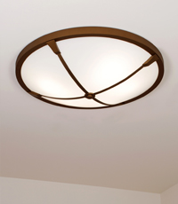 The Durham Flush Mount Light Fixture