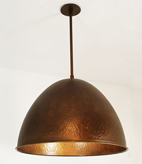 Cleo Custom Pendant Light Fixture 2013