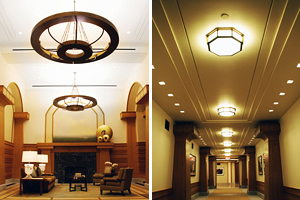 The Harrison Commercial Light Installation