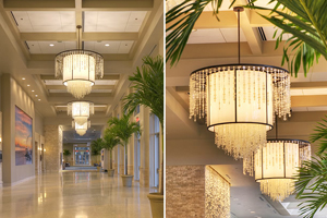 Jekyll Island Convention Center Commercial Light Installation