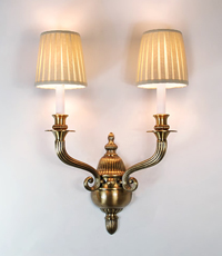 Lancaster Custom Wall Light Fixture 2013