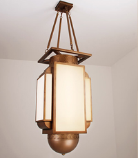 Rhineback Custom Pendant Light Fixture 2013