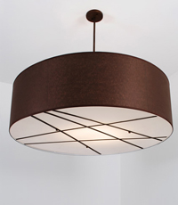 Sanderson Custom Pendant Light Fixture 2013