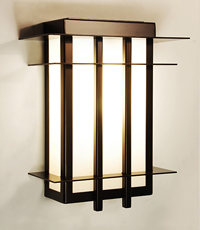 Sendai Custom Wall Light Fixture 2013