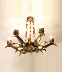 Suno Custom Chandelier Light Fixture 2013