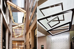 Tower 45 Commercial Light Installation