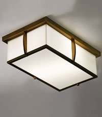 The Douglass Flush Mount Light Fixture
